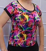 Tričká - Tričko barevný kouř XS - XXXL - 10657880_