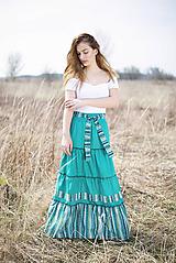 Sukne - Tea skirt - 10656680_