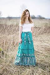 Sukne - Tea skirt - 10656683_