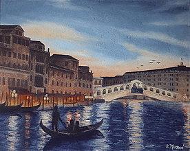 Obrazy - Nočný Canal Grande - 10657371_