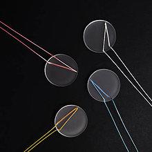 Náhrdelníky - pure// circle  (Světle modrá) - 10657435_
