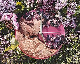 Hodiny - Drevené dekoračné hodiny - Savage Garden - 10657861_