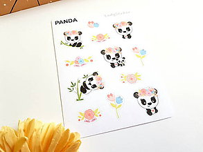Nezaradené - Veselá panda - 10656946_