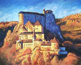 Obrazy - Oravský hrad - 10656185_