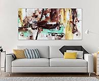 Obrazy - Abstrakcia, 200x100, abstraktný obraz - 10656281_