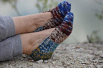 Obuv - papučky-balerínky farebné (v.39-40) - 10657577_
