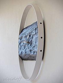 Hodiny - hodiny nástenné dubovo-kovové3 - 10657978_