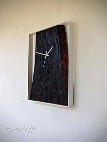 Hodiny - hodiny nástenné dubovo-kovové4 - 10659307_