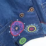 Kabáty - Denimový jacket Mandala - 10659033_