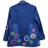 Kabáty - Denimový jacket Mandala - 10659035_