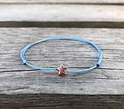 Náramky - Náramok s hviezdičkou - 10658373_