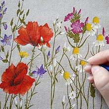 Kresby - Maľovanie na zaslané šaty pre Mariannu - 10659542_