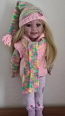Hračky - Anna - oblečenie pre bábiku - 10658181_