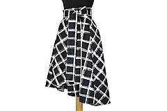 Sukne - posledný kus! - Asymetrická zavinovacia sukňa - doprava zdarma - 10658701_