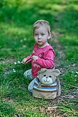 Detské tašky - Detský batoh -  macko - 10660367_