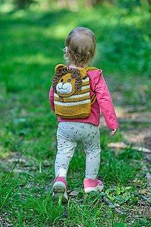 Detské tašky - Detský batoh -  levík - 10660356_