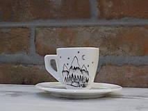 Nádoby - Maličká ristretto šálka - Camper - 10659612_
