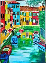 Obrazy - Prechádzka po Benátkach - 10658466_