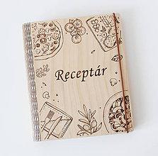 Papiernictvo - Receptar. Zapisnik na recepty - 10660254_