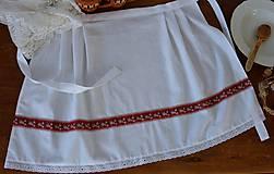 Iné oblečenie - Svadobná zásterka - 10659594_