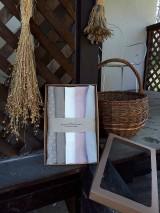 Úžitkový textil - Darčeková sada Linen Towels Romantic - 10659973_