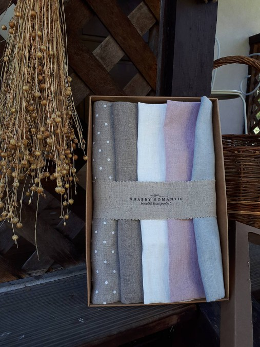 Darčeková sada Linen Towels Romantic