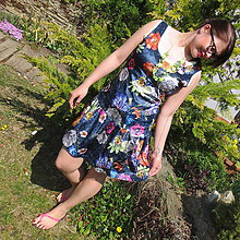 Šaty - Letný deň plný kvetov...ZĽAVA! - 10660568_