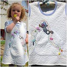 Detské oblečenie - Myška pomocníčka... /104-110 - 10662653_