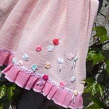 Detské oblečenie - Ružové, ľahké ako vánok ... 98-104 - 10662674_