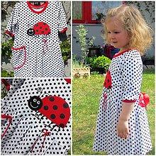 Detské oblečenie - Lienka a bodka ... 104-110 - 10662705_