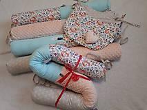 Textil - Had - valec do veľkej postele - rôzne druhy látok -  - 200cm - 10661297_