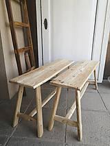 Nábytok - lavica I. / príručný stolík - 10663839_