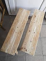Nábytok - lavica I. / príručný stolík - 10663840_