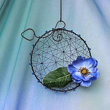 Dekorácie - Kolečko modré - 10663712_