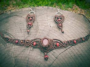 Sady šperkov - set s Rubínom - 10661339_