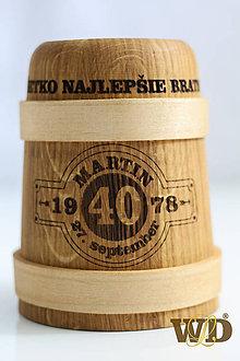 Doplnky - Krígeľ na pivko s venovaním - 10662318_