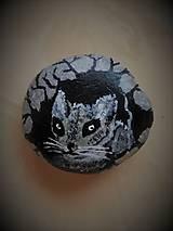 """Dekorácie - Maľovaný kameň - """"V DIERE..."""" - 10662499_"""