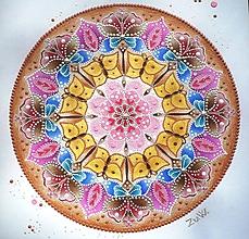 Obrazy - Mandala - Motýle II - 10662518_