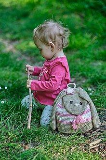 Detské tašky - Detský batoh -  zajko - 10660622_