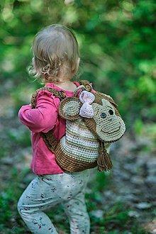 Detské tašky - Detský batoh -  malá opica - 10660666_