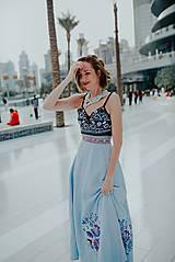 Sukne - modrá sukňa Poľana - 10663760_
