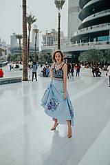 Sukne - modrá sukňa Poľana - 10663762_
