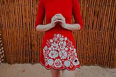 Šaty - úpletové šaty Poľana - 10663926_