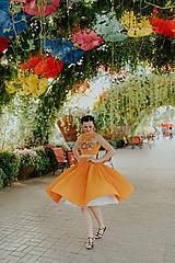 - plisované šaty Poľana - 10664086_