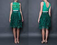 Sukne - zelená sukňa Poľana - 10664096_