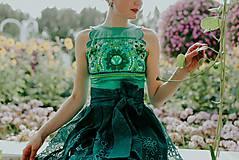 Sukne - zelená sukňa Poľana - 10664102_