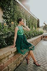 Sukne - zelená sukňa Poľana - 10664103_