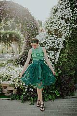 Sukne - zelená sukňa Poľana - 10664105_