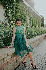 Sukne - zelená sukňa Poľana - 10664106_