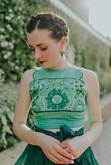 Topy - zelený top Poľana - 10664125_